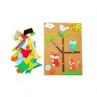 Mozaik kirakós játék - rókás 4557