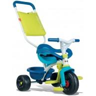 SMOBY gyerek tricikli Be Move Confort Bleu 10 hó kórtól kék-zöld 740405