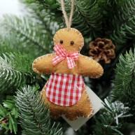 IMP-EX karácsonyfadísz mézi kislány