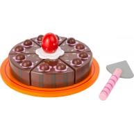 Legler fa szeletelhető játék csokoládé torta 11064