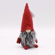 IMP-EX karácsonyi dekoráció orrmanó 16cm-es