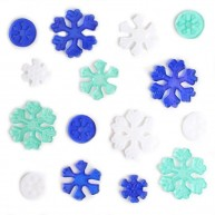 IMP-EX karácsonyi ablakzselé dísz hópehely és jégkristály 4414I