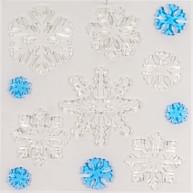 IMP-EX karácsonyi ablakzselé dísz jégkristályok 4414A