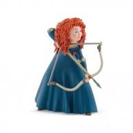 Bullyland Merida - Merida játék figura íjjal a kezében lopakodó pózban 12827