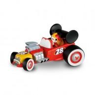 Bullyland Mickey and the Roadster Racers - Mickey egér játék figura versenyautójában 15459