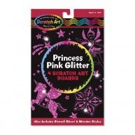 Melissa & Doug képkarc glitteres hercegnős 5810