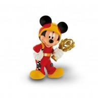 Bullyland Mickey és az autóversenyzők - Mickey játékfigura trófeával 15461