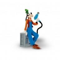 Bullyland Mickey és az autóversenyzők - Goofy az autószerelő játék figura 15462