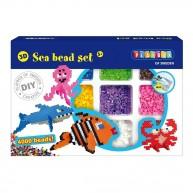 PLAYBOX vasalható gyöngyök 4000db-os tenger állatai 2456343