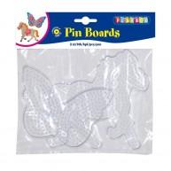 PLAYBOX forma vasalható gyöngyökhöz 2db lovacska és pillangó 2456096