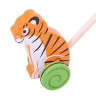 BIGJIGS tologatós fajáték - Tigris BB137