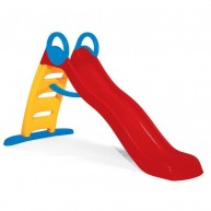 Smoby Funny csúszda 200 cm csúszófelülettel 2 éves kortól- piros  820401