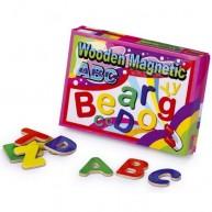 Legler fa mágnesek ABC betűi  1400