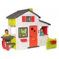 Smoby Jóbarátok gyerek kerti ház 810211 C