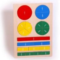 Legler Puzzle : a törtek megismerése 4436