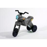 DOHÁNY Enduro Maxi kismotor lábbal hajtható - ezüst   5046-4