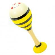 Rumbatök sárga méhecske csíkos 4038B