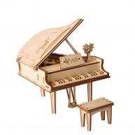 ROKR 3D Zongora lézervágott modell fából  TG402