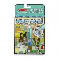 Melissa & Doug vízzel kiszínezhető füzet, foglalkozások 4 képes  Water Wow 30180