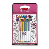 Melissa & Doug színkód alapján színezhető füzet 12 lapos   5377