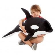 Melissa & Doug óriás kardszárnyú delfin plüss 18802