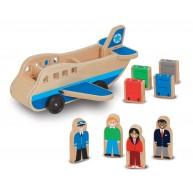 Melissa & Doug fajáték - repülő kiegészítőkkel és utasokkal 9394