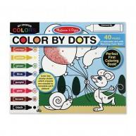 Melissa & Doug színező füzet színek szerint 40 lapos 4006