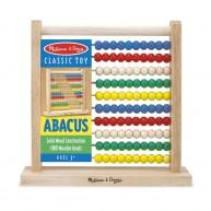 Melissa & Doug abakusz, klasszikus számolást tanuló játék 493