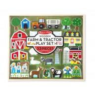 Melissa & Doug farmos traktoros játék szett 4800