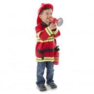 Melissa & Doug tűzoltó jelmez szett 4834