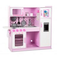 Melissa & Doug rózsaszín séf konyha lányoknak kiegészítőkkel 4002