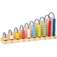 Legler számoló ferde Abacus 1-10-ig 11324