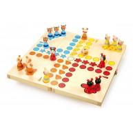 Legler Ki nevet a végén társas játék állatos összecsukható dobozban 7358