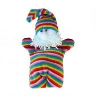 Puppet World 3 ujjas plüss törpe báb 1360