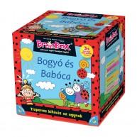 BrainBox Bogyó és Babóca társasjáték 55 kártyás memóriafejlesztő társas
