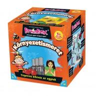 BrainBox Környezetismeret társasjáték 55 kártyás memóriafejlesztő kicsiknek