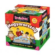 BrainBox Magyarország társasjáték 54 kártyás memóriafejlesztő társas