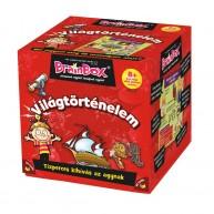 BrainBox Világtörténelem társasjáték 70 kártyás memóriafejlesztő társas