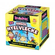 BrainBox Angol nyelvlecke társasjáték 70 kártyás oktató jellegű táras