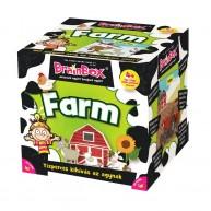 BrainBox Farm társasjáték 56 kártyás memóriafejlesztő társas