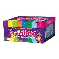 BrainBox Quiz családi társasjáték 160 kártyás memóriafejlesztő társas