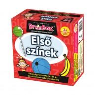 BrainBox Első színek társasjáték 24 kártyás memóriafejlesztő társas