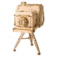 ROKR 3D Modell Fényképezőgép és ceruzatartó 142db-os lézervágott modell TG403