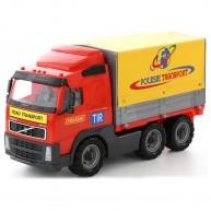 Volvo játék teherautó 7,5T ponyvás kamion 45 cm 9548