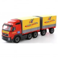 Volvo ponyvás pótkocsis kamion 8732