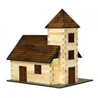 Walachia fa építőjáték - templom  5011