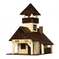Walachia fa építőjáték - túrakunyhó  5019