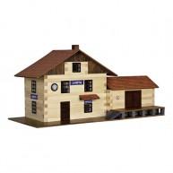 Walachia fa építőjáték - Vonatállomás  5016