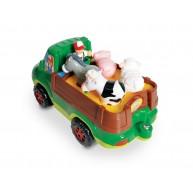 WOW Freddie a farmer állatszállító autójával és állatkákkal 10710