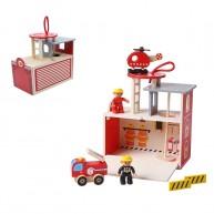 Tűzoltó állomás  fajáték 5372